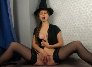 Your Halloween witch, scary squirt! -..