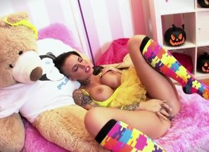 Exotic adult movie star Christy Mack..
