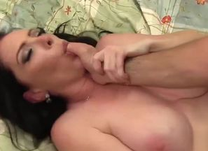 Sensual angel plumbed and facialized