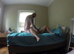 REAL hidden cam. giant cockslut takes..