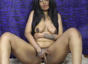 Indian doll HornyLily dancing and..