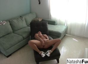Natasha Super-cute loves a teeny alone..