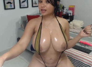 Phat breasts latina webcam