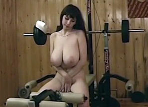 Phat breasted Russian little girl in..