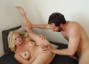 Lovely small mommy gets spanked,..