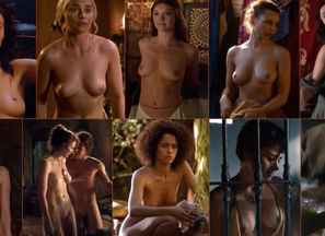 Hottest Tits OF GAME OF THRONES..