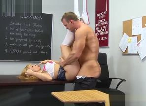 Killer Student Lea Lexis Gets All The..