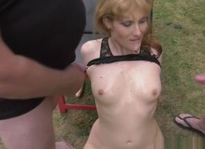 wifey Nicole urinated on by bunch folks