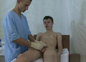 Russian lad corporal check-up - Indian