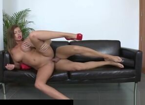 meaty Breasted Donna Bell In Audition