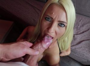 Huge-chested Blow-job With Ample Jizz..